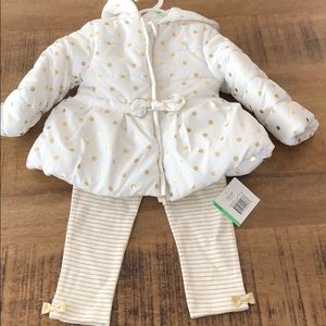Little Me 18 months baby girl 3 piece Outfit